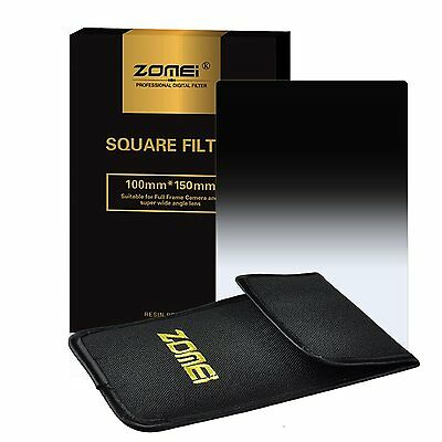150X100mm Gradual ND GND16 Square Filter for Cokin Z Lee Holder Camera