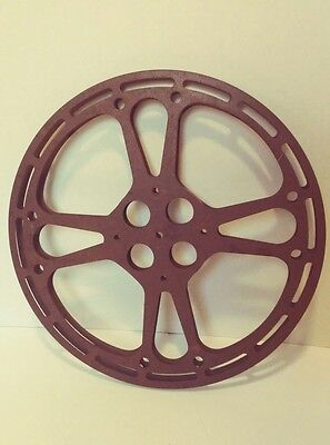 VINTAGE 16mm Metal Empty Film Reel GOLDBERG BROS