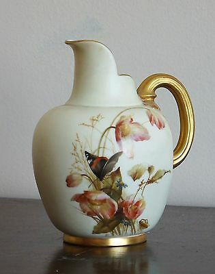 Antique Royal Worcester Pitcher 1094 # 29115