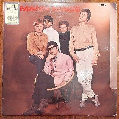 Manfred Mann - Mann Made. CLP 1911. G/G+. UK 1st Press. Vinyl Record LP.