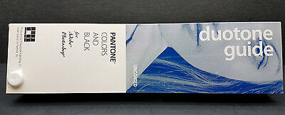 Pantone Colors and Black Duotone Guide - Uncoated Version
