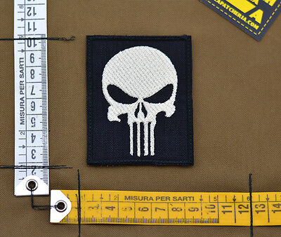 "Ricamata / Embroidered Patch ""13 Hours Skull Benghazi"" with VELCRO® brand hook"