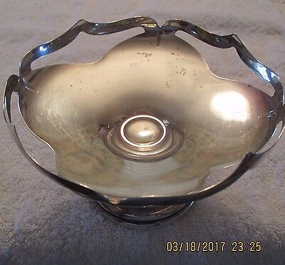 Vintage Sheffield Silver Co. Sterling Silver  Compote  weighted  271 grams