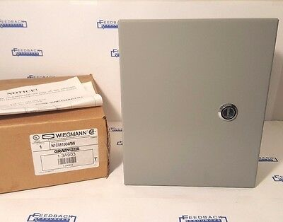 "New Wiegmann Enclosure 8"" x 10"" x 4"" - N1C081004WW 6x8x4 - New In Box"