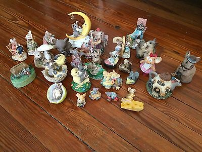 Collectible Mice Mouse Vintage & Mid-2000s Collection 28 Figurines