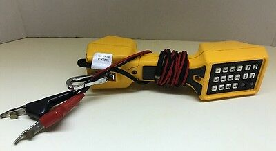 Fluke Network TS22A Telephone Test Set W/Angled Bed of Nail Clips-USED CONDITION