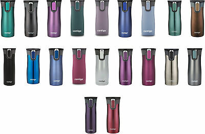 Contigo AUTOSEAL West Loop Stainless Steel Travel Mug, 2 Sizes, 13 Colors