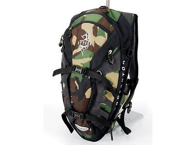 Deuter Attack 20 Camouflage And Black Protector Backpack Winter Sports Bikepack