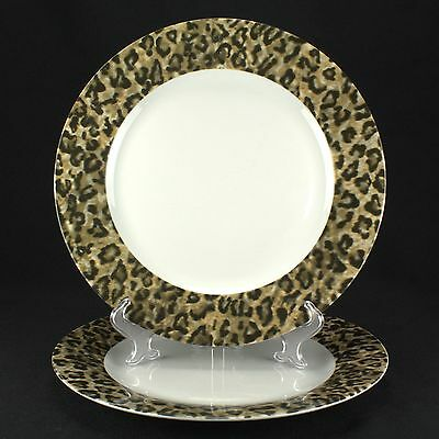 Tienshan Leopard 2 Dinner Plates UTENSIL WEAR