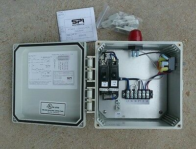 Septic Products Inc SPI Bio Aerobic control panel model HWA88