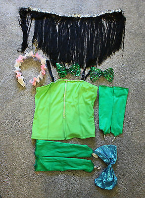 Childs Dance Costume Accessories- 10 Pieces - for Dance or Playing Dress Up