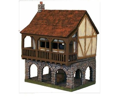 Miniature Building Authority 25mm Guild Hall + Box - Product Id 10182