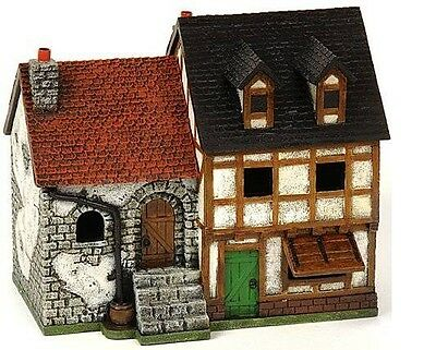 Miniature Building Authority 25mm New DoubleTownhouse + Box - Product Id 10177