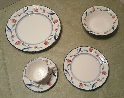 Noritake Promenade Pattern E 811. Epoch collection 8 place setting of 5 pieces  sc 1 st  PicClick & NORITAKE PROMENADE PATTERN E 811. Epoch collection 8 place setting ...