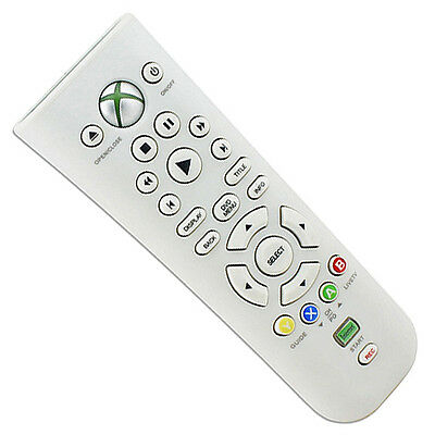 Xbox 360 Media Remote Control Console System DVD Video Music Internet Controller