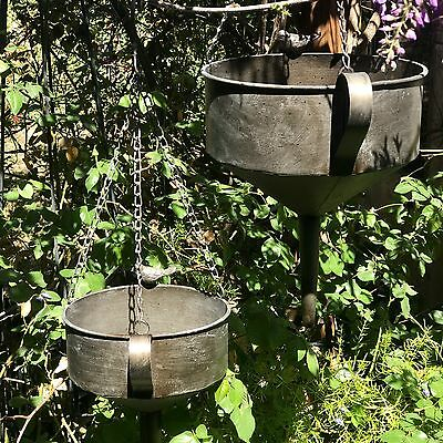 Metal Funnel Hanging Garden Planter Set of 2