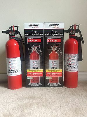2 - Fire Extinguisher Basic Use 1-A:10-B:C w/Bracket