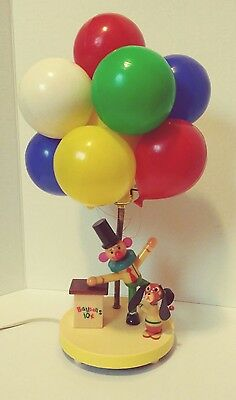 Vintage Balloon Vendor Nursery Lamp and Night Light by Dolly Toy