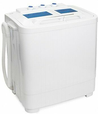 PORTABLE COMPACT WASHER Apartment Size Washing Machine with ...