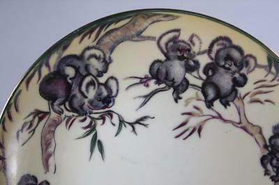 Vintage Brownie Downing Signed Koala On Branches Motif Plate