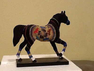 Navajo Black Beauty Horse New Trail of the Painted Ponies 1E/2731 MIB