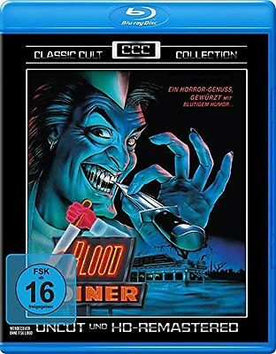 Blood Diner (1987) BLU-RAY Uncut Import BRAND NEW - USA Compatible