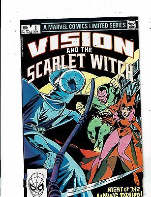 Lot of 2 Vision and the Scarlet Witch  Marvel Comic Books #1 2 WT18