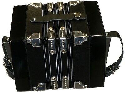 Button Concertina Ft20K With Padded Carry Bag