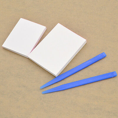 50Pages Dental Mixing Paper Disposable with Mixing Tip Supplies Tools Plastic
