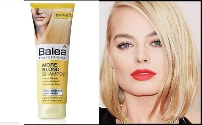 Balea Professional -More Blond Shampoo with Chamomile & Lemon For a Smooth 250ml