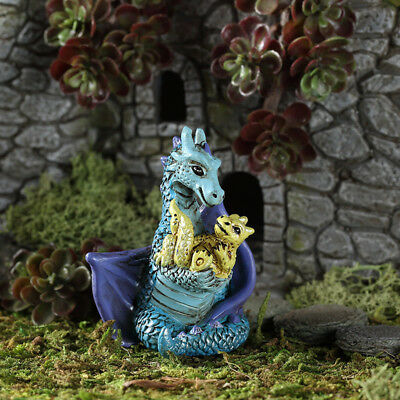 My Fairy Gardens Mini - Mom And Baby Dragon - Supplies Accessories