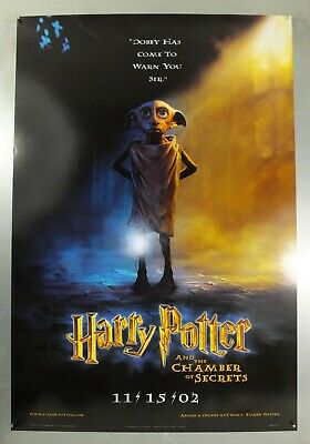 Harry Potter & The Chamber Of Secrets - Original American One Sheet Movie Poster