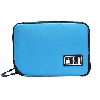 Waterproof Travel Cable USB Organizer Digital Storage Bag Case Pouch Shockproof