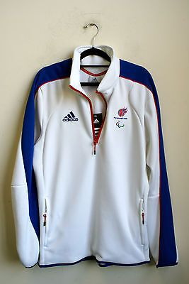 Adidas Gb 2008 Paralympics Fleece 38 40 New With Tags