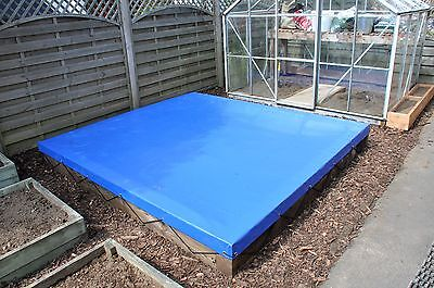 Sandpit Covers Made To Measure - Reinforced Top Grade Pvc - Any Size Or Colour