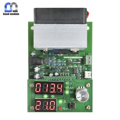60W Constant Current Electronic Load 9.99A 30V Discharge Battery Capacity Tester