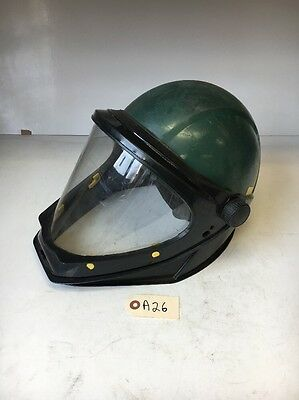 3M Hardhat Shell w/ L-130 Faceshield Warranty! Fast Shipping!