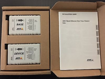 AXIS Communications 5026401M T8640 Ethernet Over Coax Adapter
