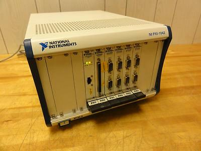 National Instruments NI PXI-1042, PXI-8420 Serial, PXI-6527 I/O, PXI-8330 MXI-3