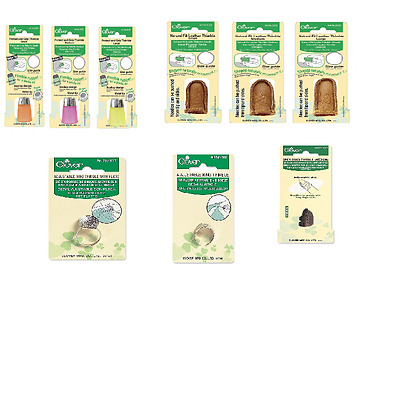 Clover Thimbles - Various Types to choose from CL610, 611, 6017, 6017, 6025 - 30