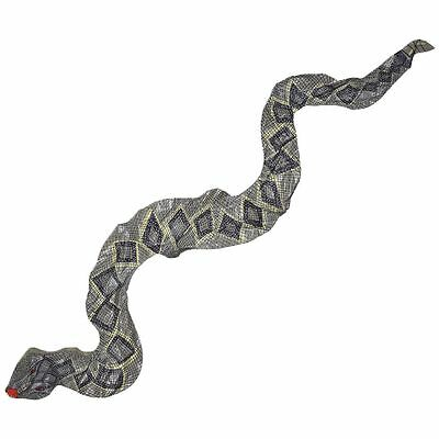 41 Inches Funny Inflatable Blow Up PVC Snake Toy Party Favor Decoration X4M4