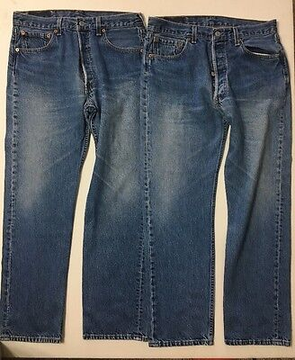Vtg Levis 501 Made In USA 2 Pairs 28x31