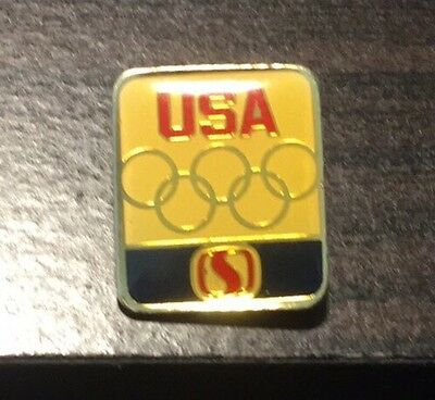 Vintage Safeway Grocery Stores Olympic Pin Pinback Button