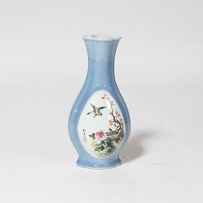 A Chinese Antique Famille Rose Porcelain Vase Cheng Yi Ting Mark Republic