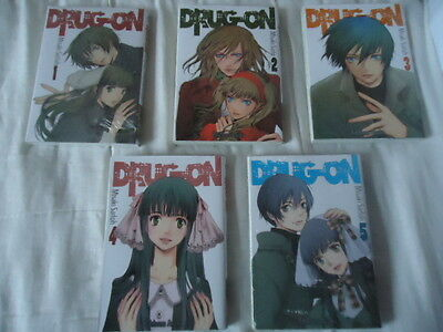 LOT Drug-on SERIE COMPLETE INTEGRALE SAITÔ Misaki ASUKA MANGA DRUGON