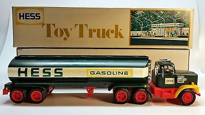 1978 Vintage Hess Toy Tanker Truck with Original Box