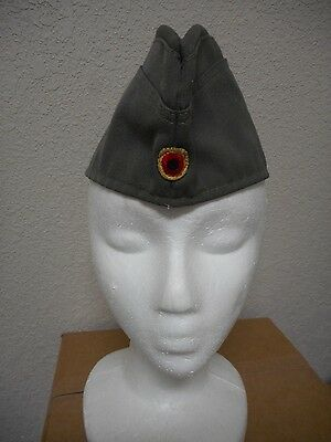 Vintage 1980's West German Bamberger Military Army Garrison Hat Cold Wa