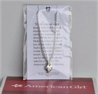 American Girl Molly's Locket   New In Package   For 18 Inch Doll's