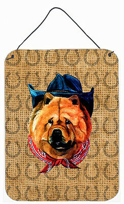 Chow Chow Dog Country Lucky Horseshoe Wall or Door Hanging Prints