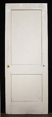 "4 availble 30""x80"" Antique Vintage Arts Crafts Wood Wooden Interior Door 2 Panel"